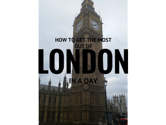 How we got the most out of London in a day