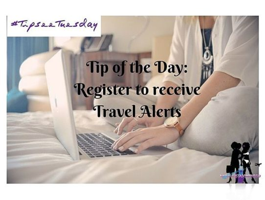 NOTG Tip-See Tuesday: Register to receive alerts
